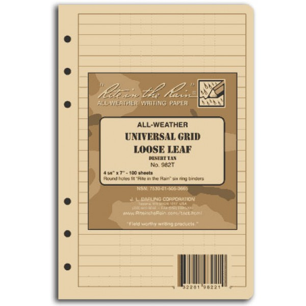 Tactical Loose Leaf