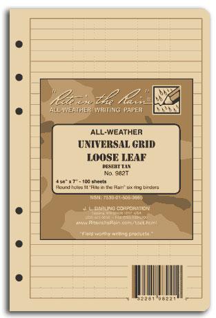 Tactical Loose Leaf