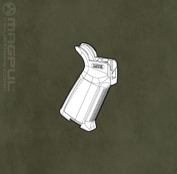 MOE+ Grip - AR15/M16