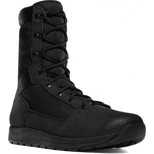 "Tachyon 8"" Black Boots"