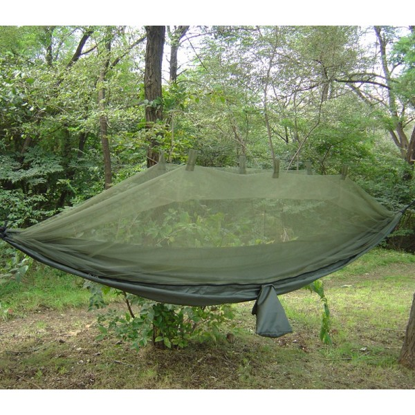 Jungle Hammock with mosquito net