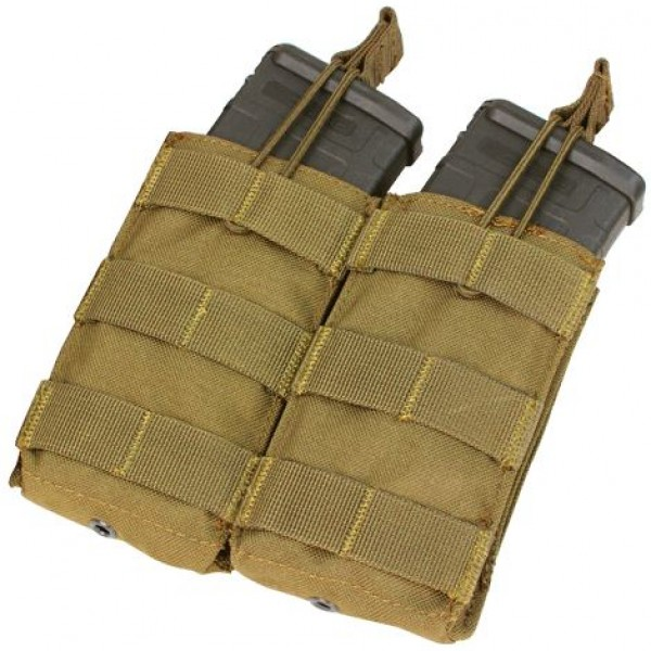 Double Open-Top M4 Mag Pouch
