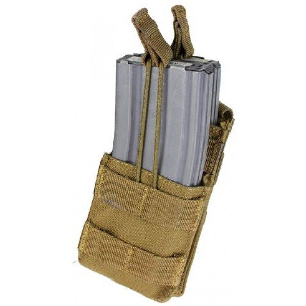 Single M4 Open-Top Stacker Mag Pouch