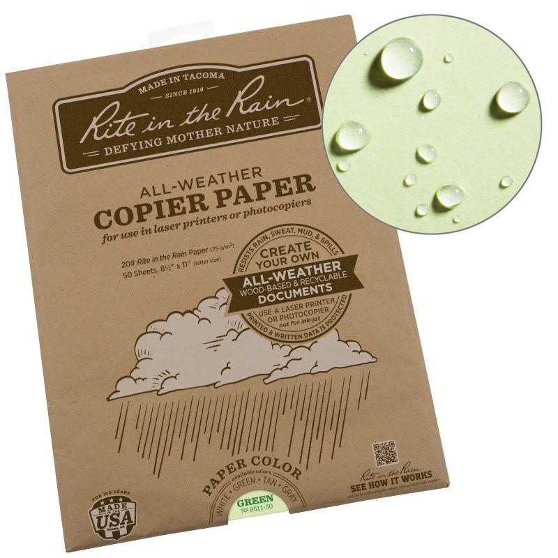 All Weather Copier Paper 50 Sheets