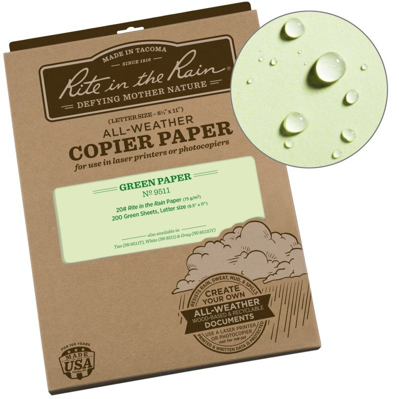 All Weather Copier Paper 200 sheets