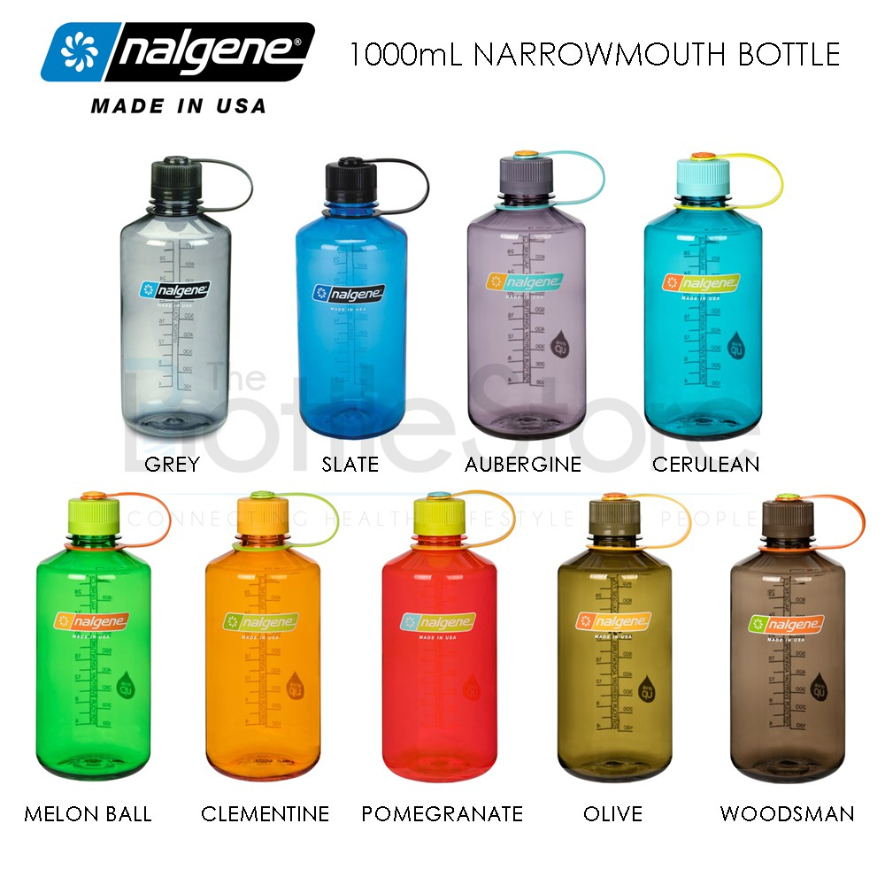 Nalgene 32 oz Narrow Mouth Water Bottle